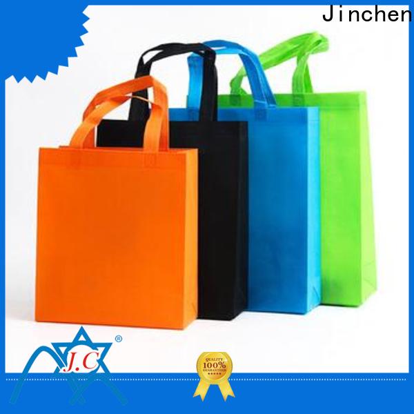 Jinchen reusable non woven carry bags solution expert for supermarket