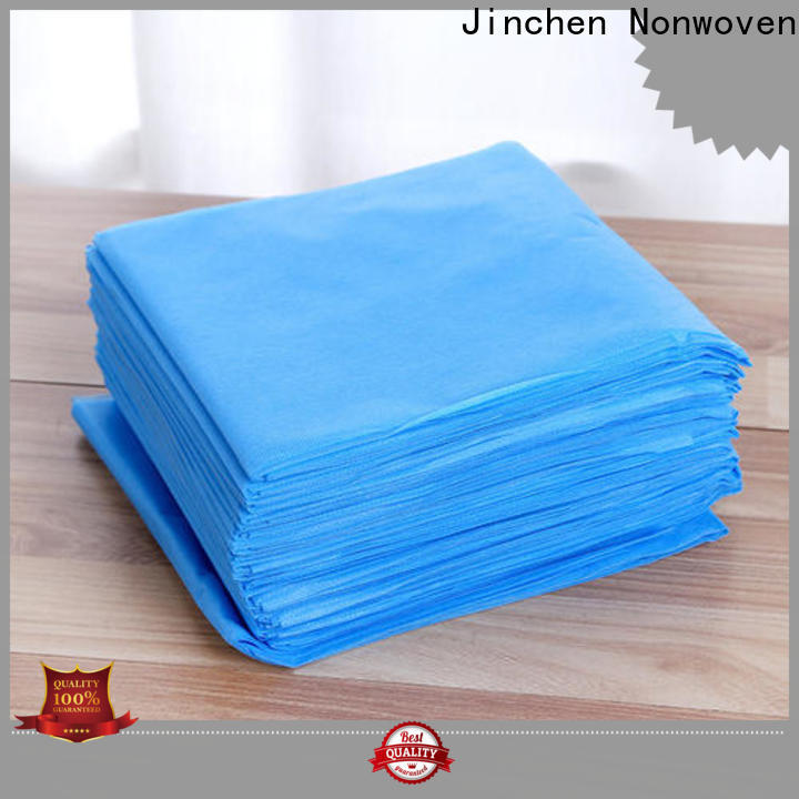 Jinchen customized pp spunbond non woven fabric exporter for furniture