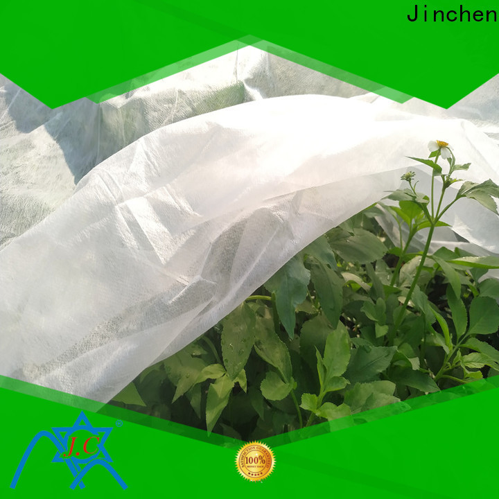 Jinchen best spunbond nonwoven affordable solutions for greenhouse