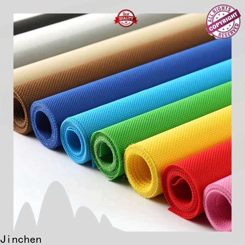 Jinchen printed non woven fabric awarded supplier for furniture