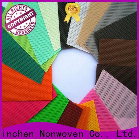 Jinchen wholesale pp spunbond non woven fabric producer for sale