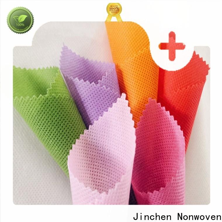 Jinchen custom polypropylene spunbond nonwoven fabric chinese manufacturer for sale