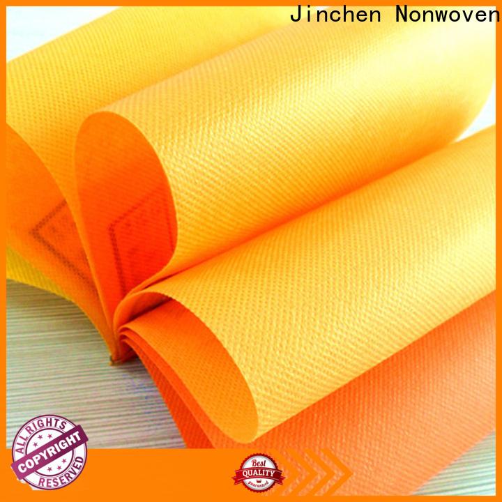 Jinchen pp spunbond non woven fabric timeless design for sale