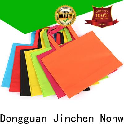 Jinchen reusable non plastic carry bags solution expert for supermarket