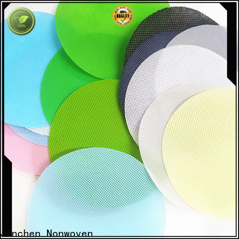 Jinchen embossed non woven fabric producer for sale