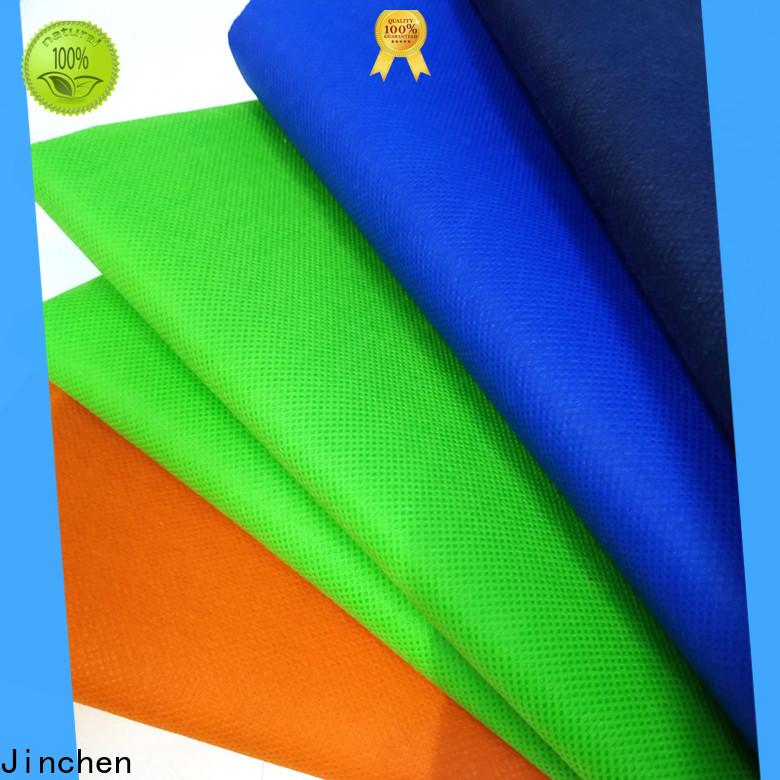 Jinchen pp spunbond nonwoven fabric manufacturer for sale