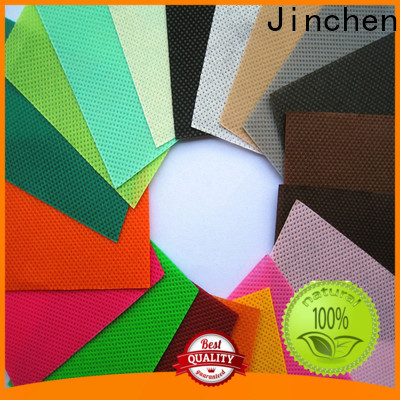 Jinchen virgin polypropylene spunbond nonwoven fabric affordable solutions for furniture