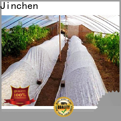Jinchen anti uv spunbond nonwoven fabric factory for greenhouse
