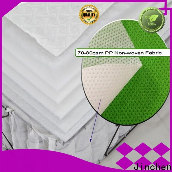 Jinchen good selling non woven fabric products wholesaler trader for sofa
