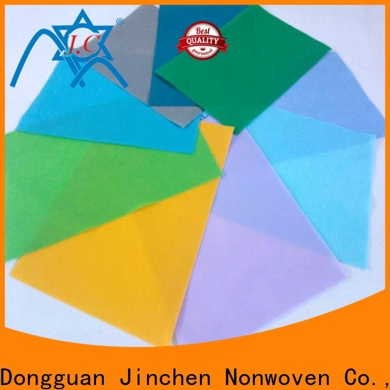 Jinchen colorful pp spunbond non woven fabric manufacturer for sale
