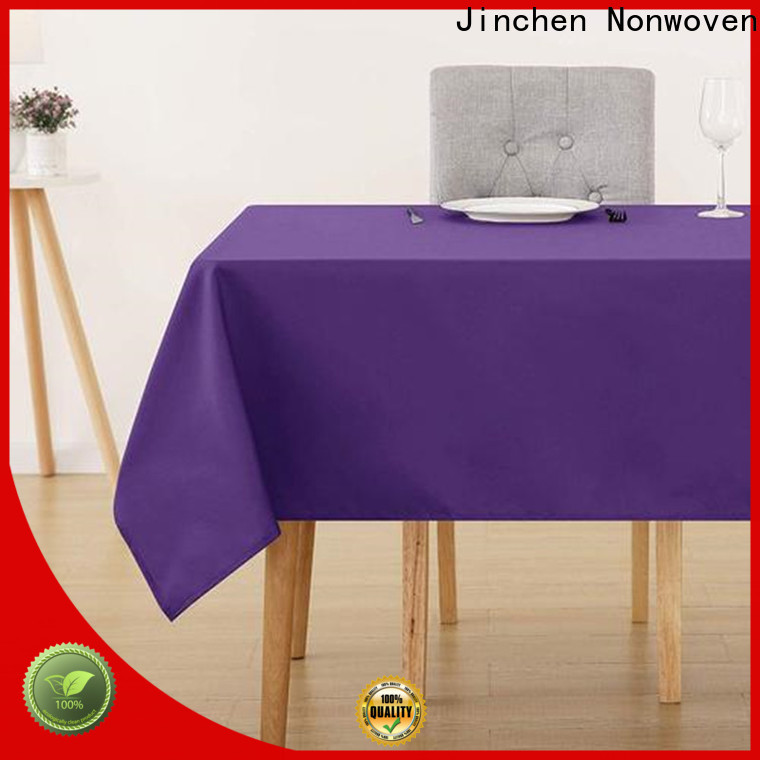 professional fabric table cover one-stop services for dinning room