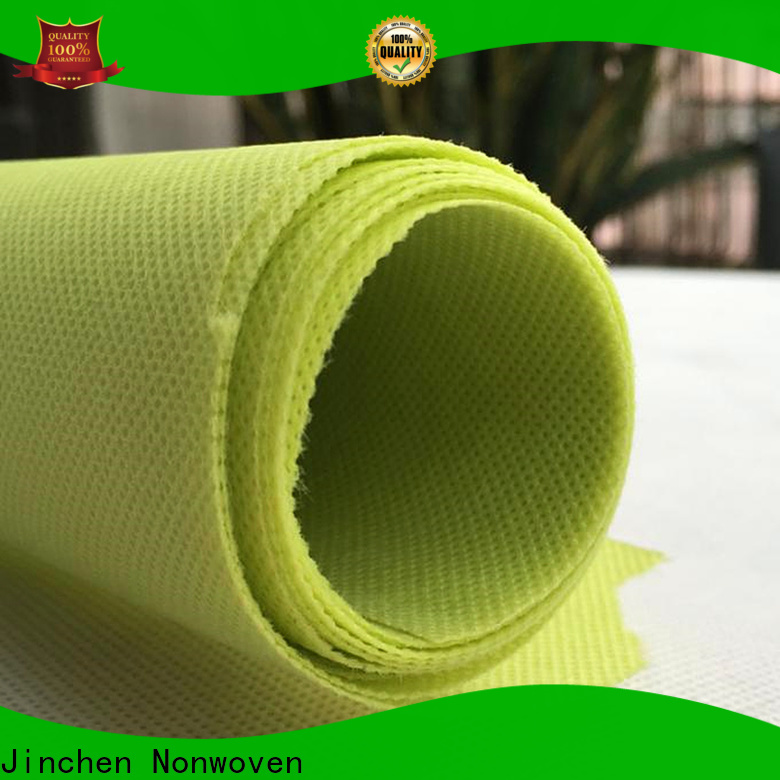 Jinchen embossed non woven fabric one-stop solutions for furniture