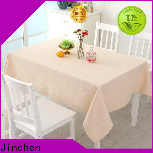 Jinchen latest fabric table cover producer for sale