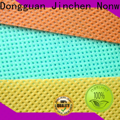 Jinchen top embossed non woven fabric producer for sale