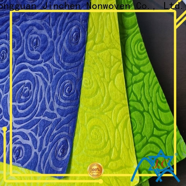 Jinchen printed non woven fabric awarded supplier for sale
