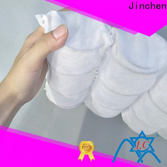 Jinchen non woven manufacturer supplier for pillow