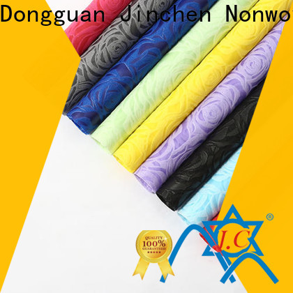Jinchen printed non woven fabric chinese manufacturer for sale