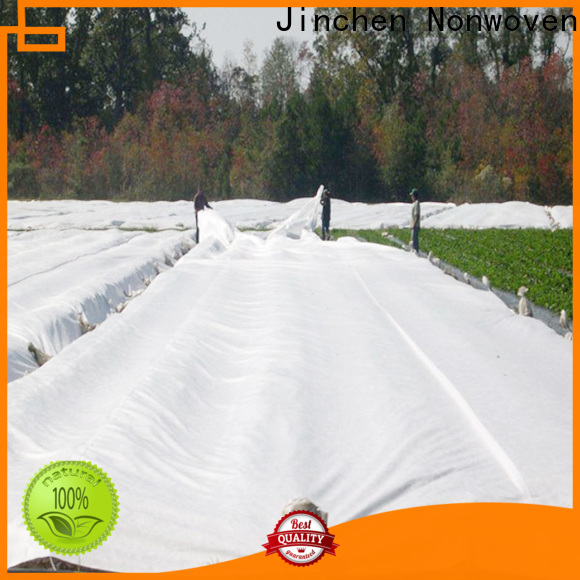 Jinchen professional agriculture non woven fabric trader for tree