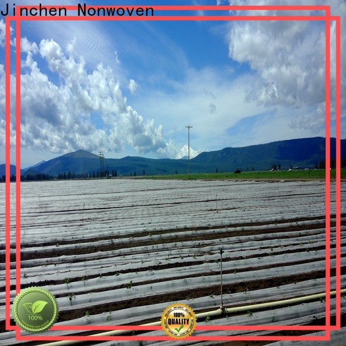 Jinchen wholesale agriculture non woven fabric factory for greenhouse