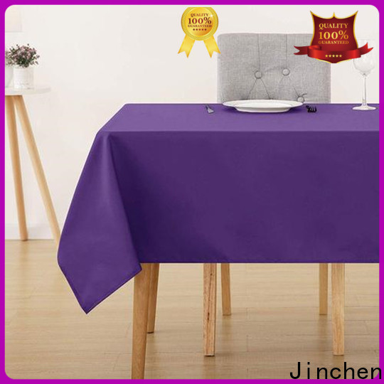 Jinchen fabric table cover supplier for sale