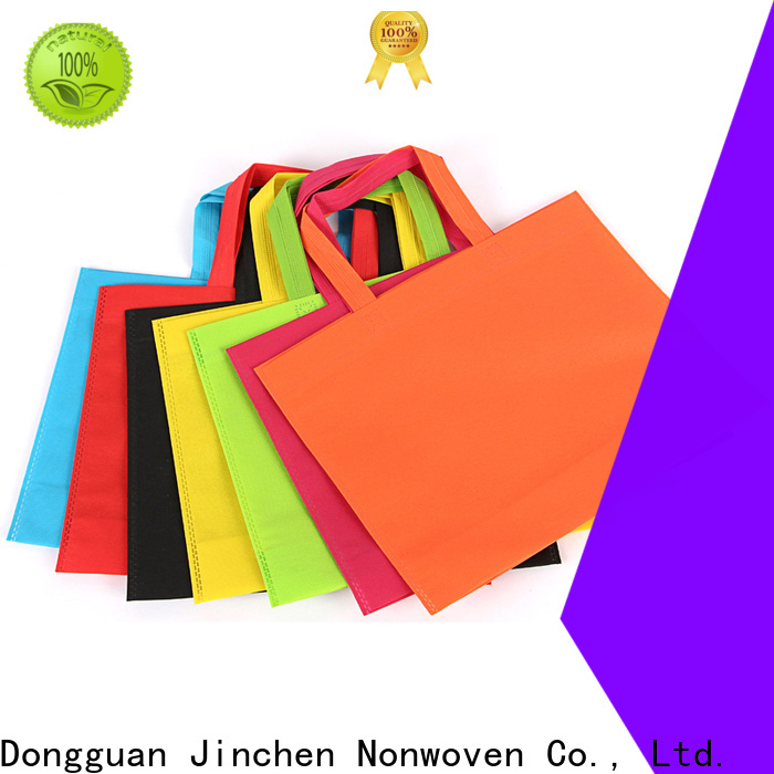 Jinchen custom pp non woven bags one-stop services for shopping mall