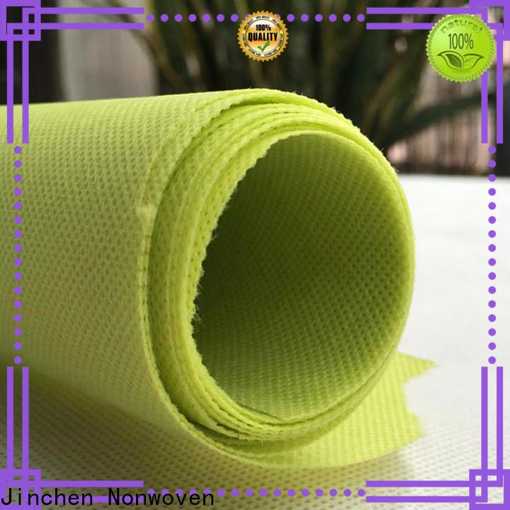 Jinchen virgin polypropylene spunbond nonwoven fabric factory for furniture