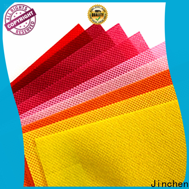 Jinchen top non woven printed fabric rolls solution expert for furniture