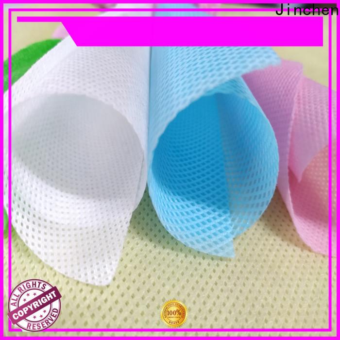 Jinchen reusable pp spunbond nonwoven fabric wholesaler trader for sale