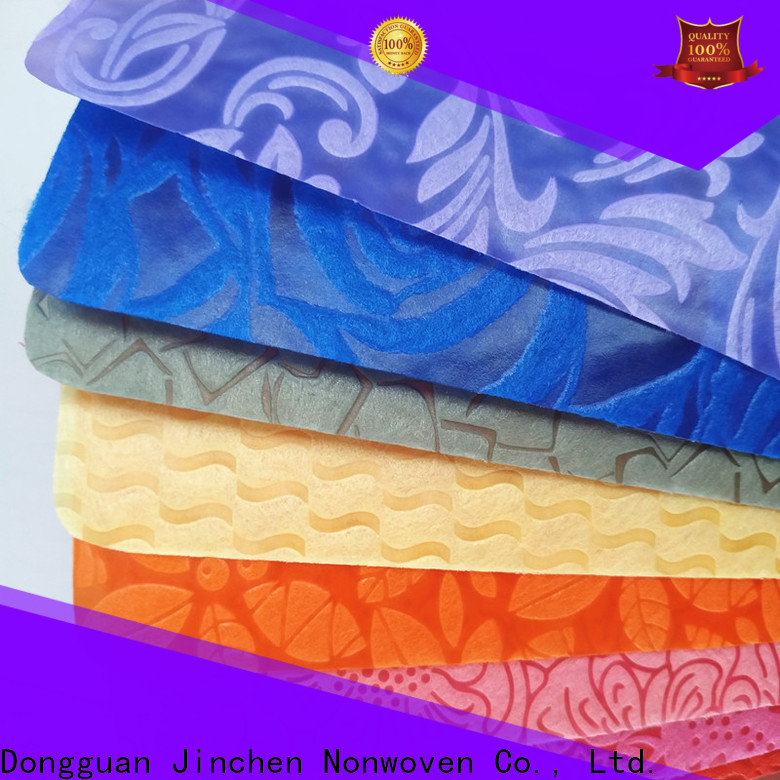 Jinchen wholesale non woven printed fabric rolls manufacturer for sale