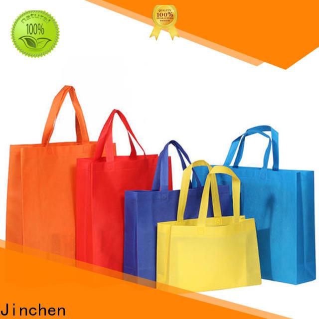 Jinchen non woven tote bags wholesale supplier for sale