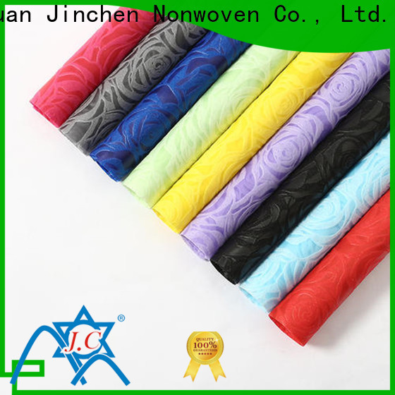 Jinchen custom non woven printed fabric rolls producer for sale