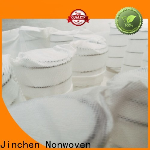 Jinchen latest pp non woven fabric manufacturer for bed