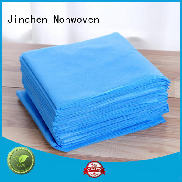 Jinchen pp spunbond nonwoven fabric factory for furniture