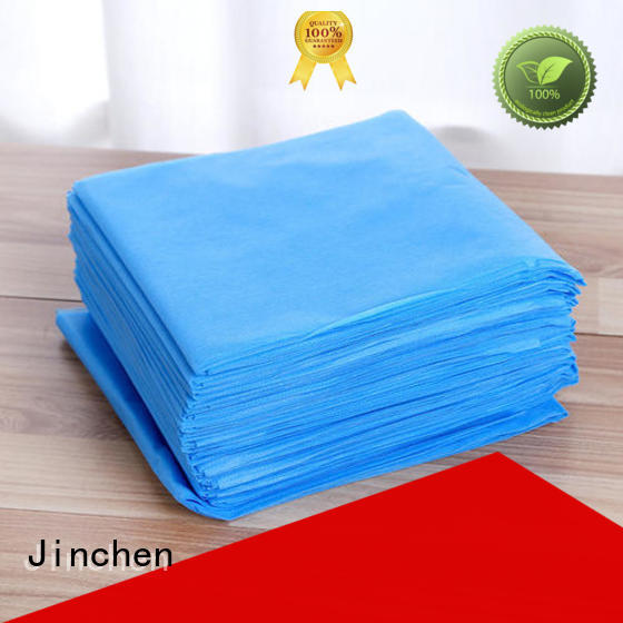 Jinchen colorful pp spunbond non woven fabric for busniess for furniture