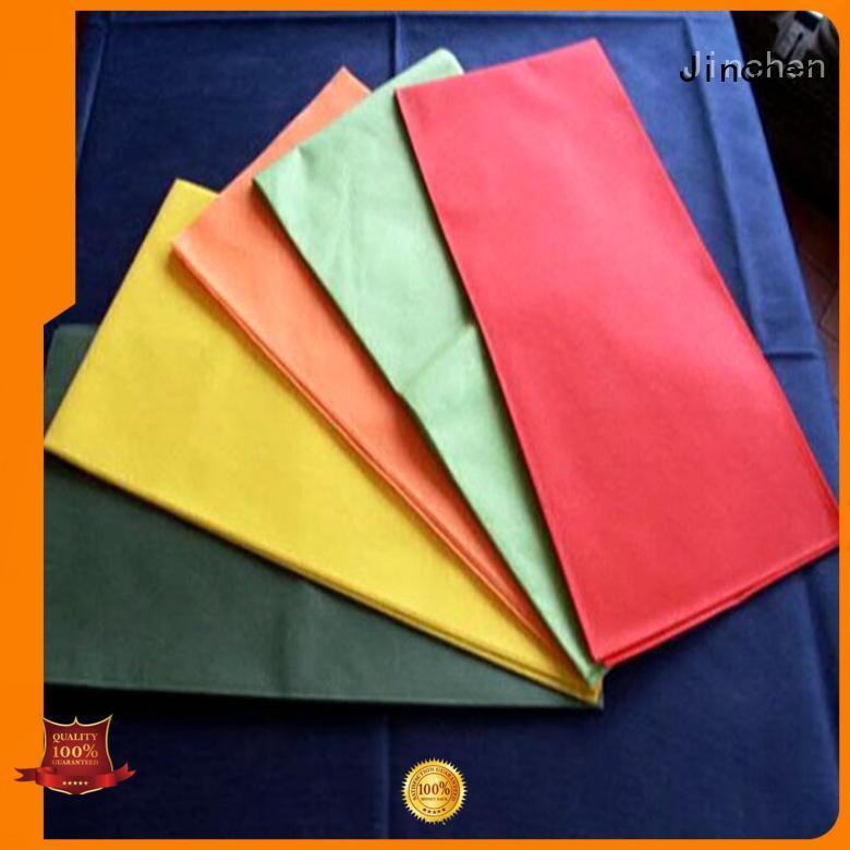Jinchen wholesale nonwoven tablecloth company for sale