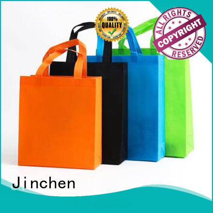 Jinchen non woven tote bags wholesale manufacturer for supermarket