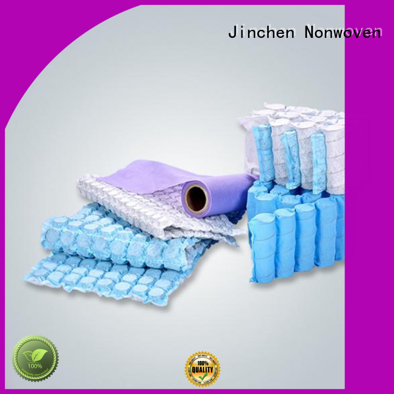 Jinchen pp non woven fabric wholesale for mattress