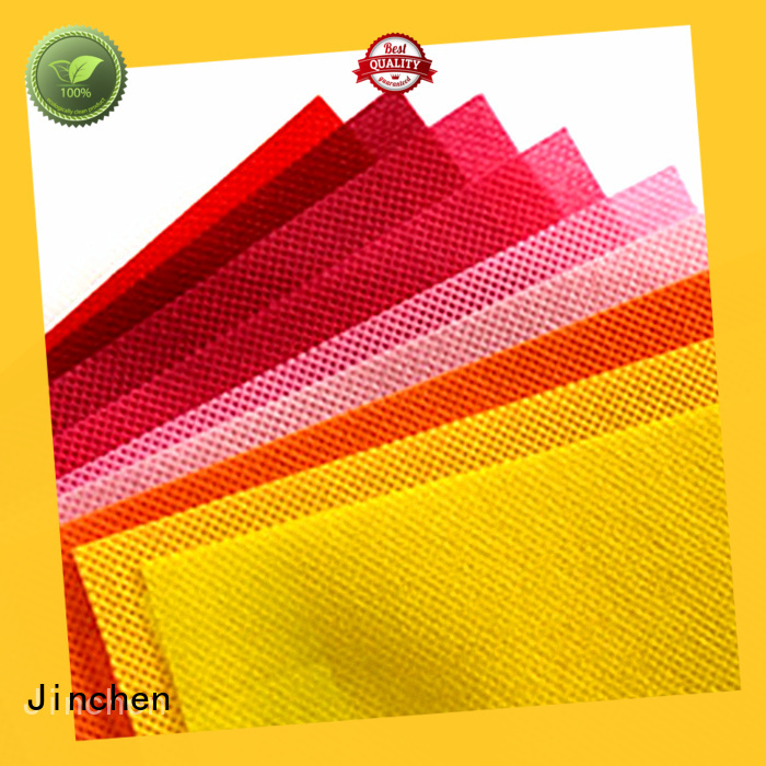 Jinchen polypropylene spunbond nonwoven fabric covers for furniture