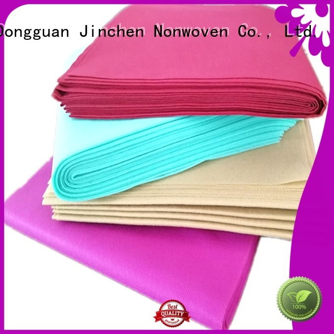 Jinchen ecofriendly tnt non woven material for sale