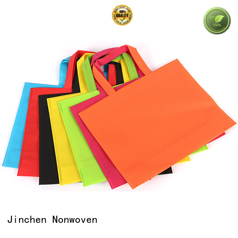 Jinchen non woven tote bags wholesale for busniess for supermarket