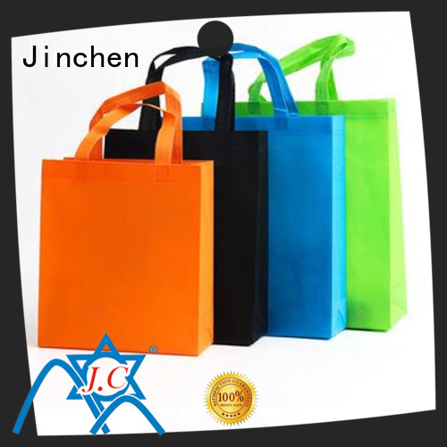 Jinchen u cut non woven bags with customized logo for sale