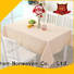 wholesale fabric table cover factory for restaurant