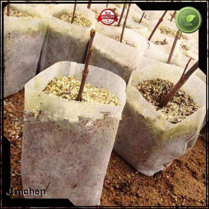 Jinchen wholesale agriculture non woven fabric ground treated for tree