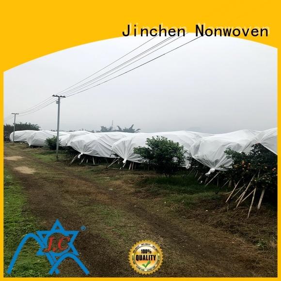 Jinchen anti uv agriculture non woven fabric landscape for tree