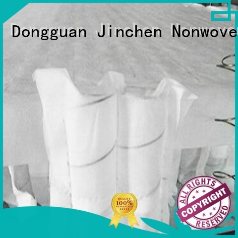 Jinchen non woven manufacturer tube for sofa