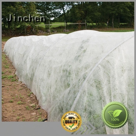 Jinchen anti uv spunbond nonwoven fabric forest protection for greenhouse