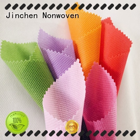 Jinchen customized pp spunbond nonwoven fabric covers for sale