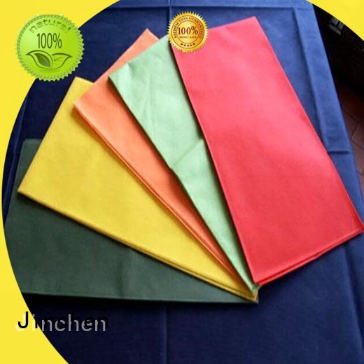 Jinchen nonwoven tablecloth company for dinning room