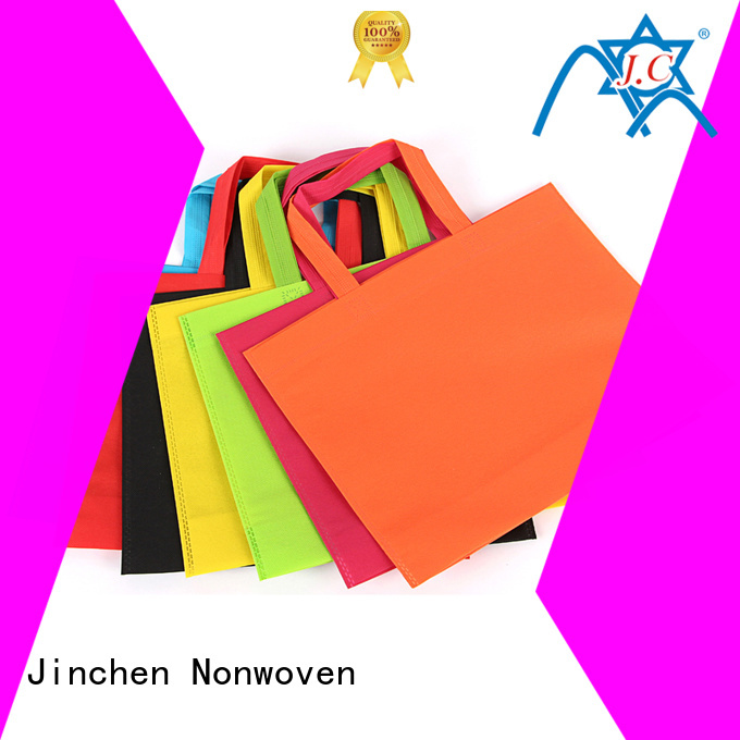 custom reusable bags with customized logo for shopping mall Jinchen