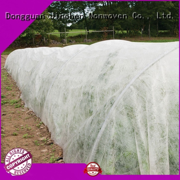Jinchen wholesale spunbond nonwoven ground treated for greenhouse